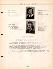 Page 17, 1941 Edition, Creston High School - Annual Yearbook (Creston, OH) online yearbook collection