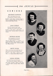 Page 13, 1946 Edition, Creston High School - Annual Yearbook (Creston, OH) online yearbook collection