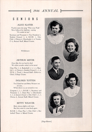 Page 15, 1946 Edition, Creston High School - Annual Yearbook (Creston, OH) online yearbook collection