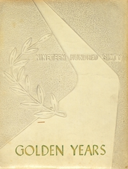 1960 Edition, Port Washington High School - Golden Years Yearbook (Port Washington, OH)