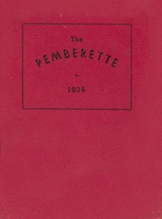 1936 Edition, Pemberville High School - Pemberette Yearbook (Pemberville, OH)