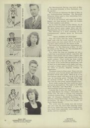 Page 16, 1947 Edition, Pemberville High School - Pemberette Yearbook (Pemberville, OH) online yearbook collection