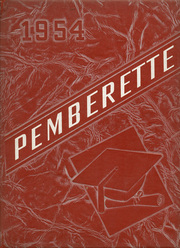 1954 Edition, Pemberville High School - Pemberette Yearbook (Pemberville, OH)