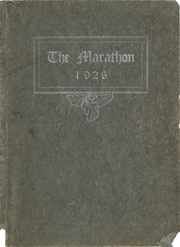 1926 Edition, St Mary Catholic High School - Marathon Yearbook (Marietta, OH)