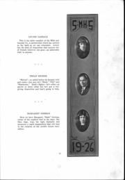 Page 12, 1926 Edition, St Mary Catholic High School - Marathon Yearbook (Marietta, OH) online yearbook collection