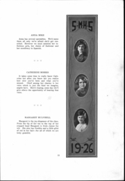 Page 14, 1926 Edition, St Mary Catholic High School - Marathon Yearbook (Marietta, OH) online yearbook collection