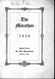 Page 2, 1926 Edition, St Mary Catholic High School - Marathon Yearbook (Marietta, OH) online yearbook collection