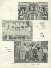 Page 42, 1953 Edition, St Mary Catholic High School - Marathon Yearbook (Marietta, OH) online yearbook collection
