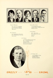 Page 14, 1930 Edition, Butler Community College - Grizzly Growl Yearbook (El Dorado, KS) online yearbook collection
