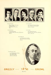 Page 15, 1930 Edition, Butler Community College - Grizzly Growl Yearbook (El Dorado, KS) online yearbook collection