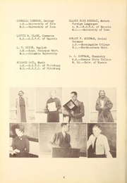 Page 10, 1937 Edition, Butler Community College - Grizzly Growl Yearbook (El Dorado, KS) online yearbook collection