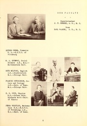 Page 9, 1937 Edition, Butler Community College - Grizzly Growl Yearbook (El Dorado, KS) online yearbook collection