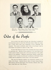 Page 11, 1948 Edition, Butler Community College - Grizzly Growl Yearbook (El Dorado, KS) online yearbook collection