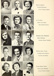 Page 14, 1951 Edition, Butler Community College - Grizzly Growl Yearbook (El Dorado, KS) online yearbook collection