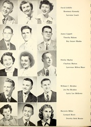 Page 12, 1952 Edition, Butler Community College - Grizzly Growl Yearbook (El Dorado, KS) online yearbook collection