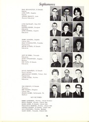 Page 16, 1962 Edition, Butler Community College - Grizzly Growl Yearbook (El Dorado, KS) online yearbook collection