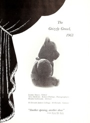 Page 5, 1963 Edition, Butler Community College - Grizzly Growl Yearbook (El Dorado, KS) online yearbook collection