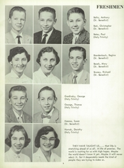 Page 10, 1957 Edition, St Benedict High School - Charitas Yearbook (Cambridge, OH) online yearbook collection