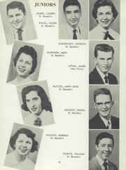 Page 17, 1957 Edition, St Benedict High School - Charitas Yearbook (Cambridge, OH) online yearbook collection