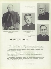 Page 7, 1957 Edition, St Benedict High School - Charitas Yearbook (Cambridge, OH) online yearbook collection