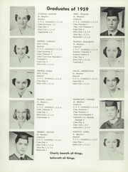 Page 12, 1959 Edition, St Benedict High School - Charitas Yearbook (Cambridge, OH) online yearbook collection