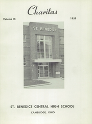 Page 3, 1959 Edition, St Benedict High School - Charitas Yearbook (Cambridge, OH) online yearbook collection