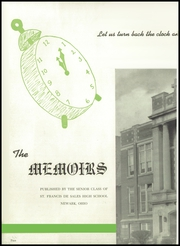 Page 6, 1950 Edition, St Francis De Sales High School - Memoirs Yearbook (Newark, OH) online yearbook collection