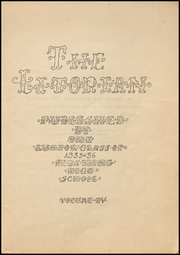 Page 3, 1936 Edition, Flushing High School - Litorian Yearbook (Flushing, OH) online yearbook collection