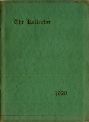 Page 1, 1929 Edition, McGuffey Foundation High School - Reflector Yearbook (Oxford, OH) online yearbook collection