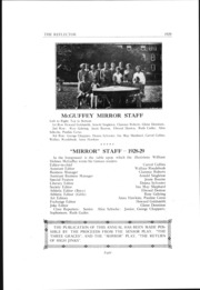 Page 15, 1929 Edition, McGuffey Foundation High School - Reflector Yearbook (Oxford, OH) online yearbook collection