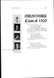 Page 17, 1929 Edition, McGuffey Foundation High School - Reflector Yearbook (Oxford, OH) online yearbook collection
