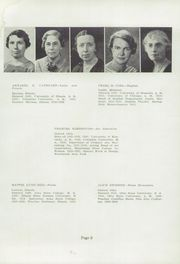 Page 17, 1937 Edition, McGuffey Foundation High School - Reflector Yearbook (Oxford, OH) online yearbook collection