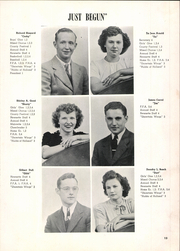 Page 17, 1947 Edition, McClure High School - McClurean Yearbook (McClure, OH) online yearbook collection