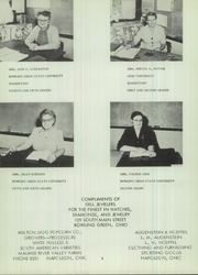Page 12, 1954 Edition, McClure High School - McClurean Yearbook (McClure, OH) online yearbook collection