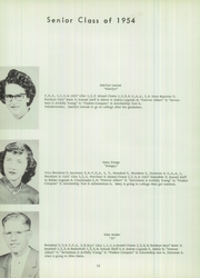 Page 14, 1954 Edition, McClure High School - McClurean Yearbook (McClure, OH) online yearbook collection