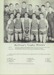 Page 5, 1954 Edition, McClure High School - McClurean Yearbook (McClure, OH) online yearbook collection