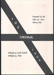 Page 5, 1966 Edition, Gettysburg High School - Cardinal Yearbook (Gettysburg, OH) online yearbook collection