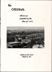Page 5, 1972 Edition, Gettysburg High School - Cardinal Yearbook (Gettysburg, OH) online yearbook collection