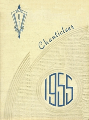 1955 Edition, Union Township High School - Chanticleer Yearbook (West Chester, OH)