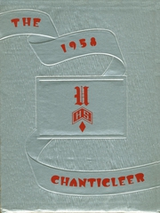 1958 Edition, Union Township High School - Chanticleer Yearbook (West Chester, OH)