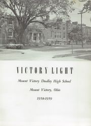 Page 7, 1959 Edition, Mount Victory Dudley High School - Victory Light Yearbook (Mount Victory, OH) online yearbook collection