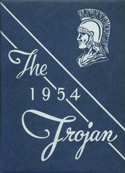 1954 Edition, Troy Luckey High School - Trojan Yearbook (Luckey, OH)