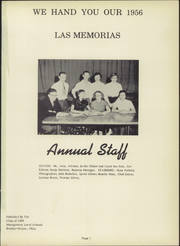 Page 5, 1956 Edition, Montgomery Local High School - Mohirab Yearbook (Wayne, OH) online yearbook collection