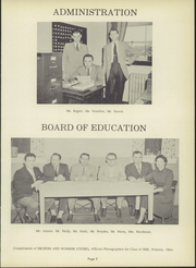 Page 9, 1956 Edition, Montgomery Local High School - Mohirab Yearbook (Wayne, OH) online yearbook collection