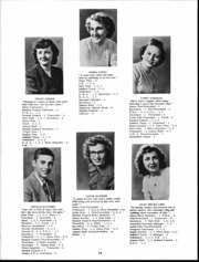 Page 15, 1950 Edition, Holmes Liberty High School - Oriole Yearbook (Bucyrus, OH) online yearbook collection
