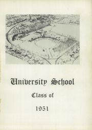 Page 5, 1951 Edition, University School - Mabian Yearbook (Hunting Valley, OH) online yearbook collection