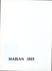 Page 5, 1965 Edition, University School - Mabian Yearbook (Hunting Valley, OH) online yearbook collection