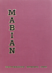 Page 1, 1966 Edition, University School - Mabian Yearbook (Hunting Valley, OH) online yearbook collection
