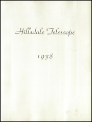 Page 5, 1938 Edition, Hillsdale School - Yearbook (Cincinnati, OH) online yearbook collection