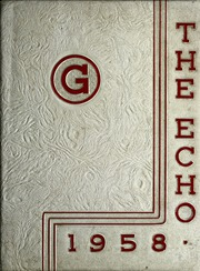 Page 1, 1958 Edition, Gomer High School - Echo Yearbook (Gomer, OH) online yearbook collection